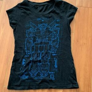 Voltron Blueprint Loot Crate Flop House T-shirt